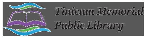 Custom Logo Designed for Tinicum Library